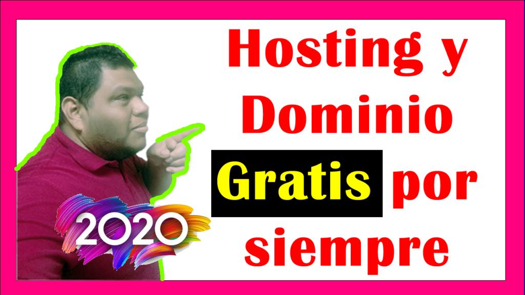 hosting y dominio gratis por siempre