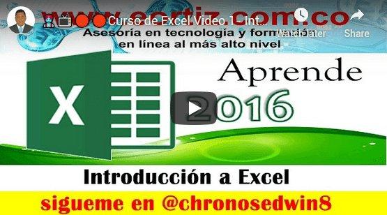 El funcionamiento básico de Excel esta determinado por el concepto de filas, columnas y celdas
