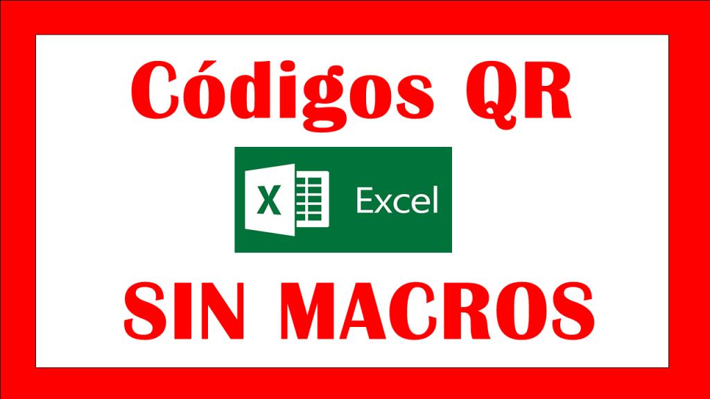 Códigos QR en Excel