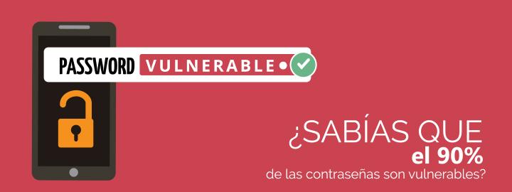 Mantenerse seguro en Internet y su vulnerabilidad en las contraseñas
