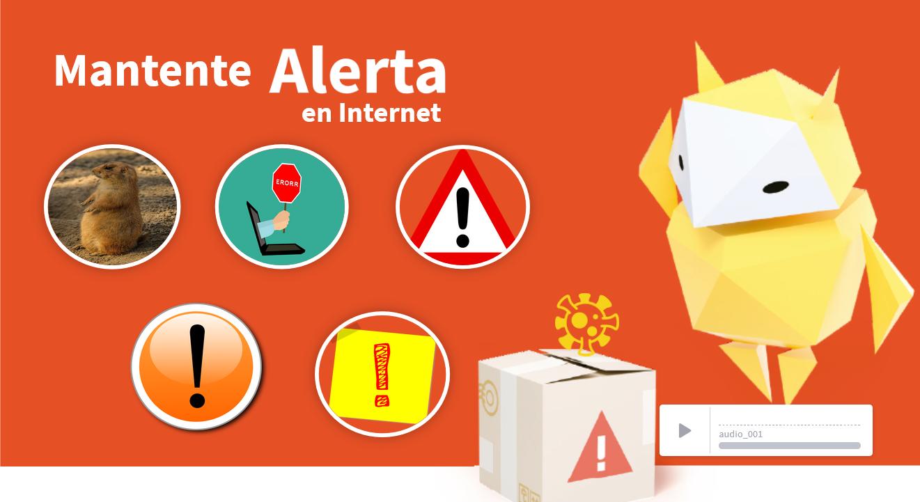 Mantenerse Alerta en Internet - Ciudadanía digital